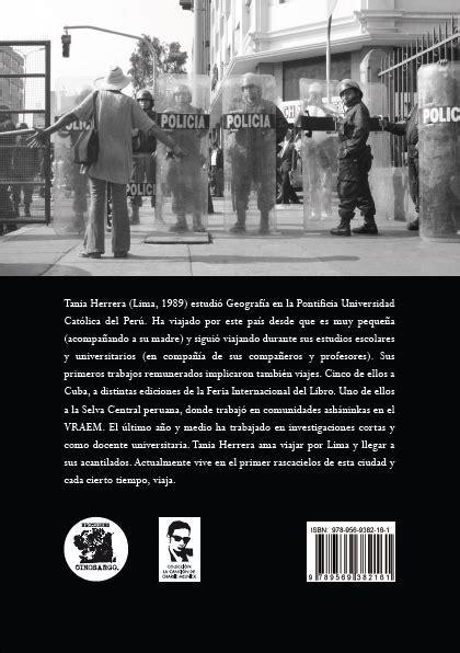 preguntas de geografia san marcos entrevista a tania herrera sobre su libro tinta afelio