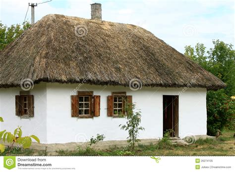 village house ukrainian village house royalty free stock photo image 26274135