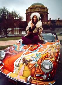 Janis Joplins Porsche Jake S Car World Janis Joplin Custom Painted Porsche 356