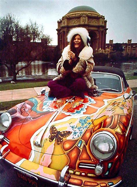 jakes car world janis joplin custom painted porsche  convertible