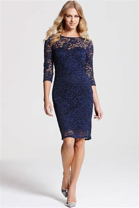 3 4 Sleeve Lace Dress paper dolls navy lace 3 4 sleeve dress paper dolls from