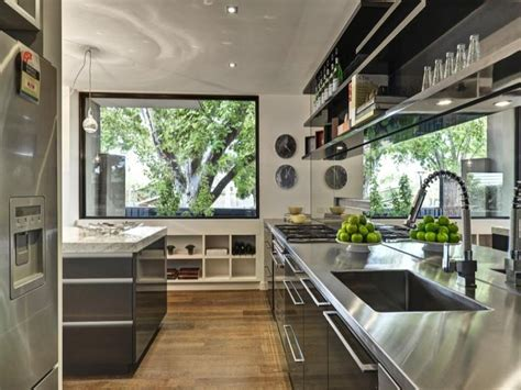 modern galley kitchen design ytwho com modern galley kitchen design using floorboards kitchen