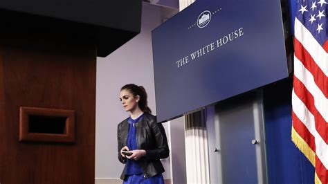hope hicks voice hope hicks tapped to be interim white house communications