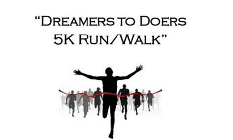 To Walk 5k by Quot Dreamers To Doers Quot 5k Walk Run Visit St Augustine