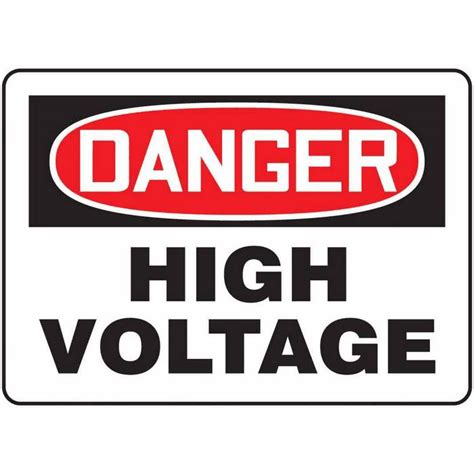 high voltage safety safety signs high voltage clipart best