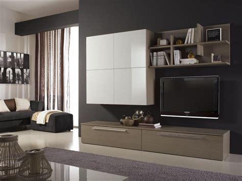 mobile per soggiorno moderno mobile soggiorno moderno l 240 cm con pensile 4 ante e