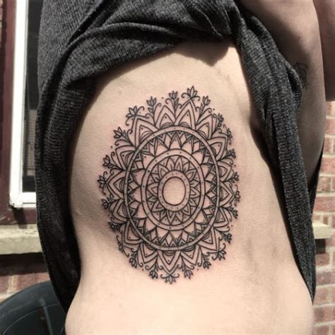 mandala tattoo rib cage 50 brilliant mandala tattoos you wish to have