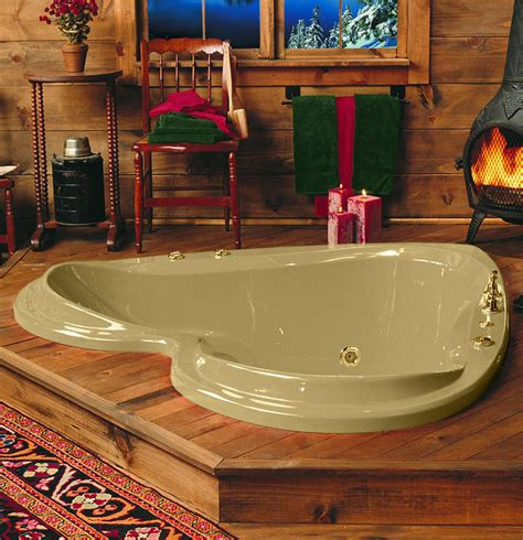 heart bathtub valentines day abode