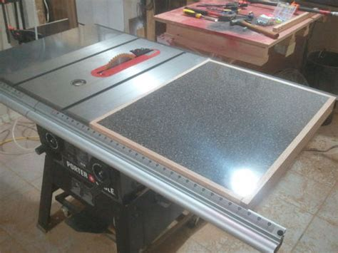 Porter Cable Table Saw Pcb270ts Adding A Table Saw Extension Wing Jays Custom Creations