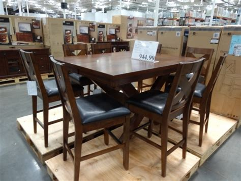 costco dining room set charleston 9 piece counter height dining set