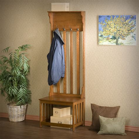 entry bench and coat rack oak entryway coat rack and bench stabbedinback foyer
