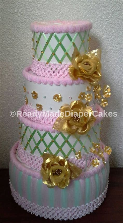 Green Themed Baby Shower by Mint Green Light Pink White And Gold Themed Baby Shower 4