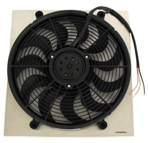 18 inch electric radiator fan derale 17 quot high output electric radiator fan w aluminum