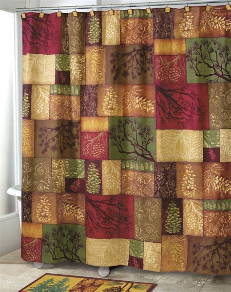 northwoods shower curtain northwoods woodland shower curtain northwoods bathroom