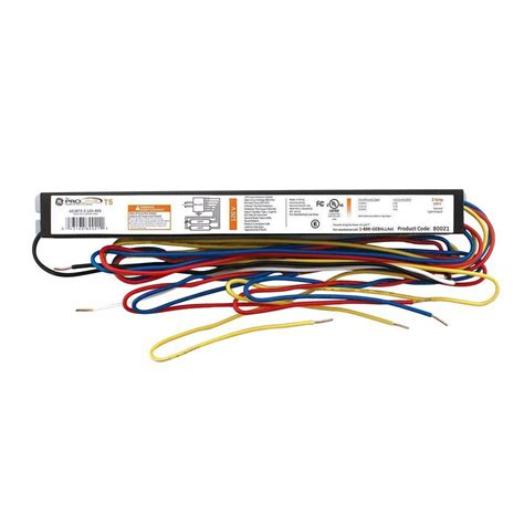 4 l t5 ballast ge 3 ft and 4 ft 2 l t5 120 volt residential
