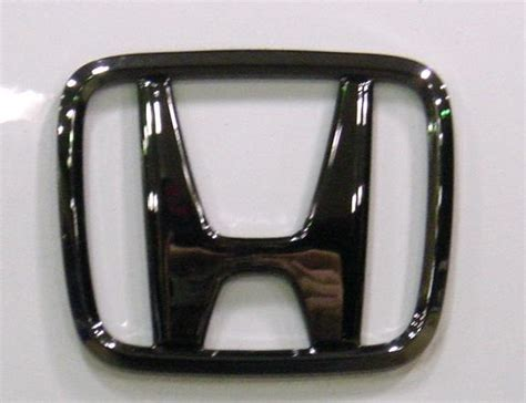 Logo Emblem Black Honda Freed Jazz Civic Accord Bri Berkualitas honda accord coupe emblem car insurance info