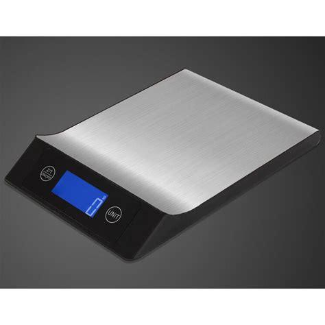 Timbangan Digital 5 Kg timbangan digital dapur model aluminium 5kg 1g black