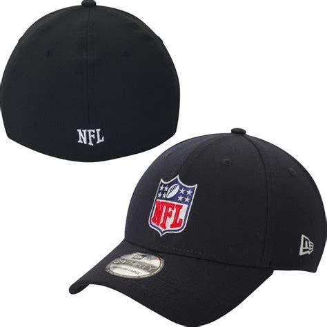 nfl hats new era mens nfl new era black shield 39thirty flex hat nflshop