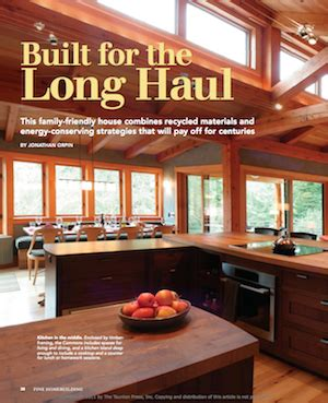 finehomebuilding com faswall award winning home featured in fine homebuilding