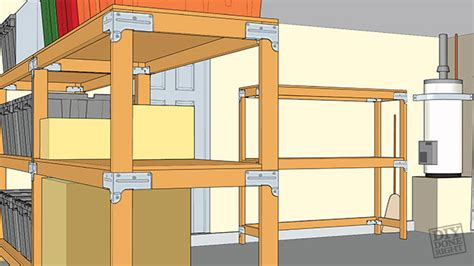 Create Your Own House Plans by Heavy Duty Shelving Unit Diy Done Right