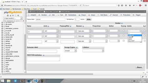 tutorial xp membuat database 1 membuat database tutorial crud php dengan pdo youtube