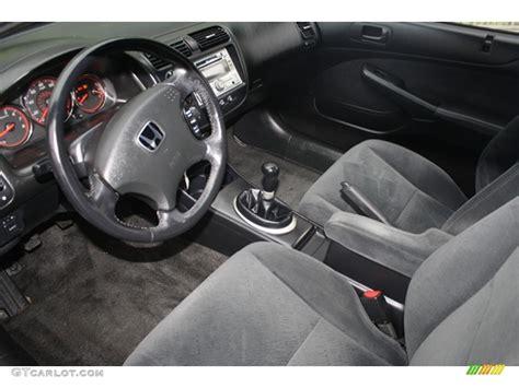 2005 Honda Civic Lx Interior by Black Interior 2005 Honda Civic Lx Coupe Photo 59046112 Gtcarlot