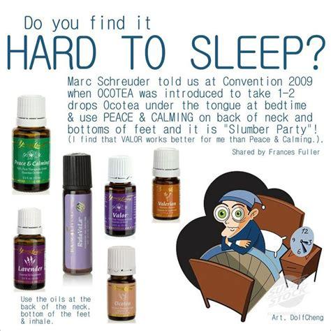 is it a sleepy living to sleep essential oils