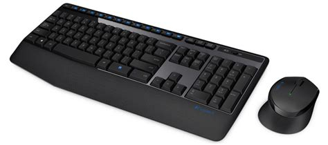 Keyboard Dan Mouse Logitech Usb jual logitech wireless combo mk345 920 006491 murah