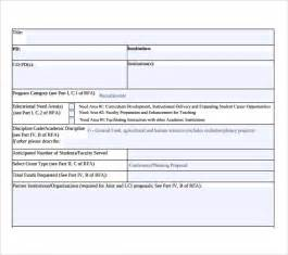 project summary template sle project summary 8 exles format