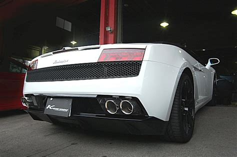 Lamborghini Exhaust Sound Kreissieg Lamborghini Gallard Lp560 4 Cat Back Valvetronic