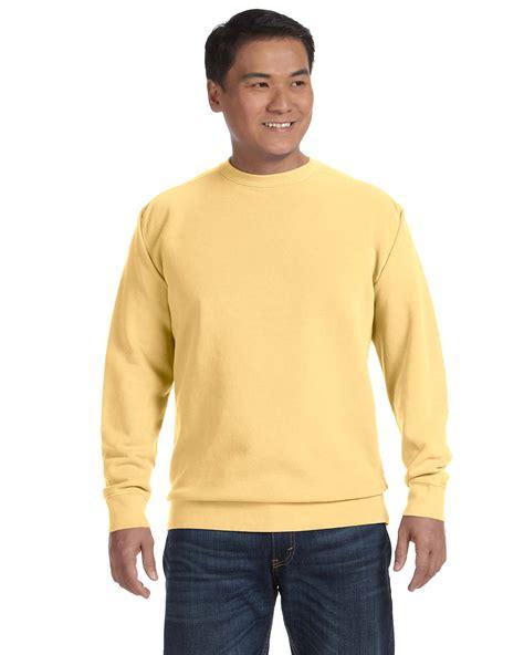 comfort colors crewneck sweatshirt comfort colors pigment dyed crewneck sweatshirt 1566 ebay
