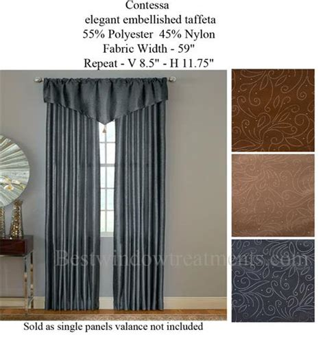 contessa curtains contessa curtain drapery panels bestwindowtreatments com