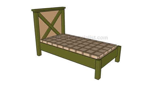 queen bed frame plans queen bed frame plans howtospecialist how to build