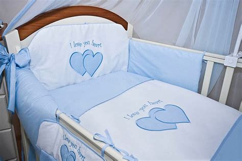 Cot Bedding And Bumper Sets Luxury Cot Cot Bed Bedding Set 3 6 10 15 Pillow Duvet Bumper Canopy Holder Ebay