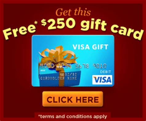 How To Get A Free Visa Gift Card Code - get a free 250 visa gift card get a free stuff online free stuff free coupon free