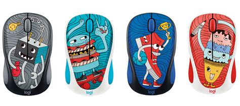 Logitech M238 Mouse Wireless Doodle Collection Sneakerhead logitech adds new doodle y designs to the m238 wireless mouse hardwarezone sg