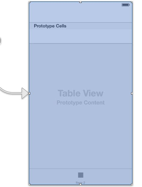 top layout guide uitableview ios layout tableview with navigation bar and tool bar