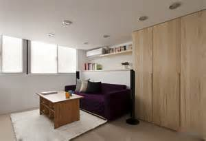 modern small apartment with open plan and loft bedroom small but well distributed apartment with a modern interior