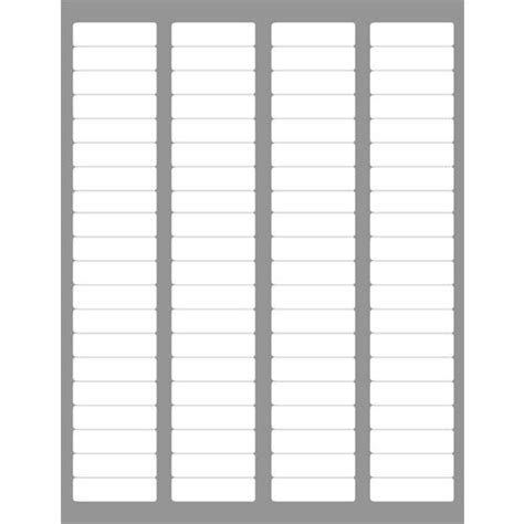 Avery Template 5267 by 4 000 Return Address Labels Compatible To Avery 5167 5267
