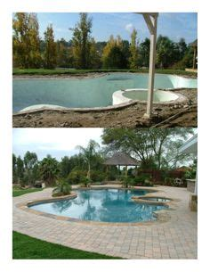 backyard makeover with pool 1000 images about swimming pool remodels before and