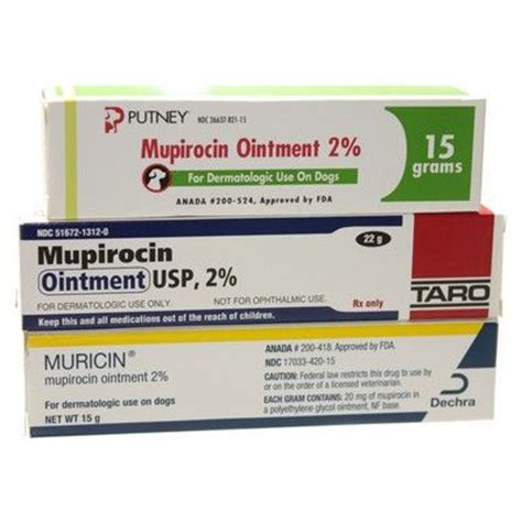 mupirocin for dogs muricin skin infections in pets vetrxdirect pharmacy