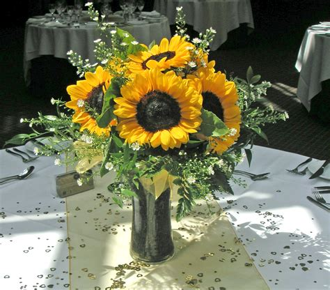 sunflower arrangements ideas bright and beautiful sunflower arrangement lindsey