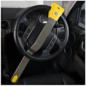 Steering Wheel Lock Tesco Crook Lock 171 Simon S