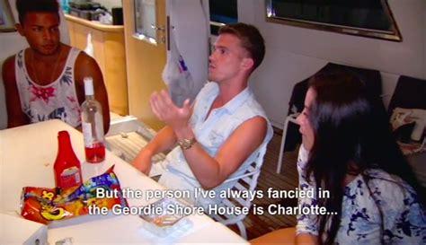 geordie shore exclusive video gary confesses to charlotte geordie shore s gaz beadle admits he fancies charlotte