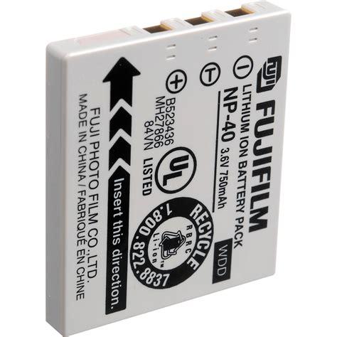 Battery Np 40 For Finepix F480 J50 fujifilm np 40 lithium ion battery 3 6v 750mah 15602839 b h