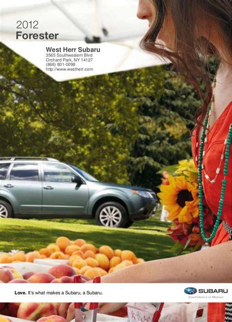 Subaru Dealer Ny by 2012 Subaru Forester For Sale Ny Subaru Dealer Near Buffalo