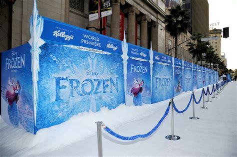 frozen film premiere disney frozen premiere at el capitan theater