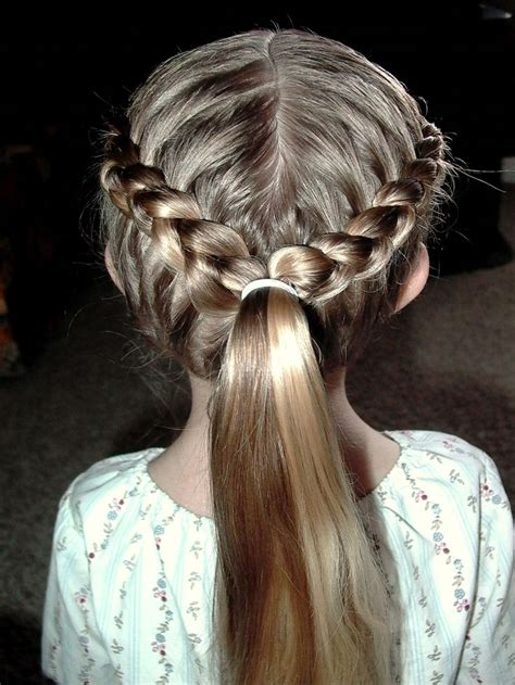 french braids and weave hairstyles french braids into ponytail braided hair pinterest