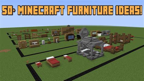 minecraft couches 50 minecraft furniture ideas youtube
