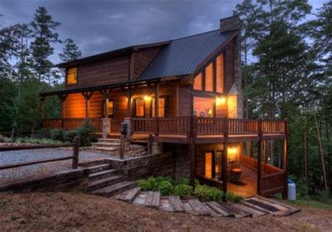 Blue Sky Cabin Rentals Offer Code by Wooded Cabin Fox Hollow Blue Sky Cabin Rentals